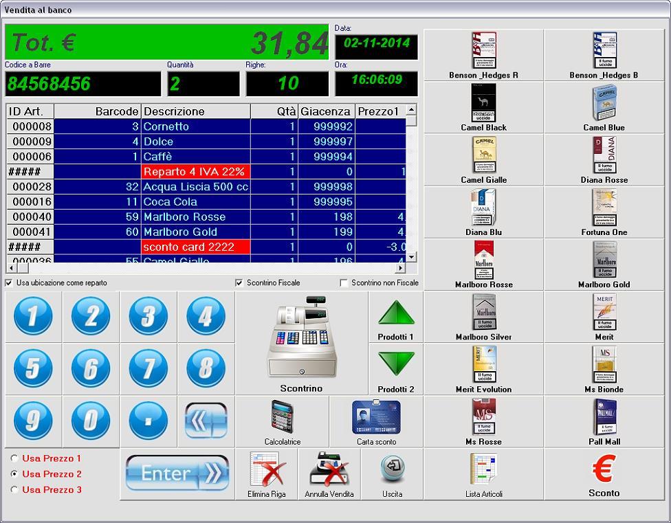 Vendita Touch Screen Magazzino Programma Software Lettore Di Codici A Barre Software Office & Business